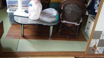 四畳半の家財道具