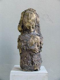 """""""o.T. kleine Halbfigur"""", 1987 Bronze, 49,5 x 22 x 16 cm"""