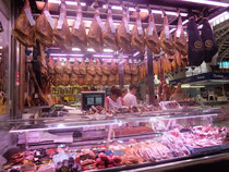 Mercado Central Markt Schinken Verköstigung Tapas