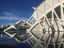 Stadt der Künste und Wissenschaften Calatrava Valencia Museum Umbracle