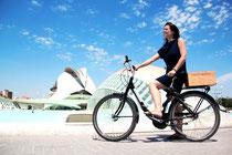 Strand Biketour fiets Valencia Haven fietstocht