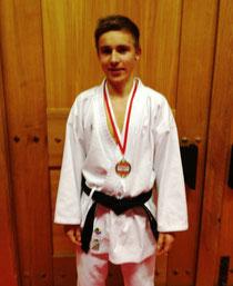 Philippe mit Medaille