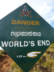 Bild: World´s End - Horton Plains National Park