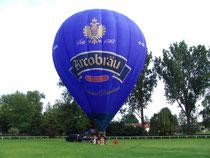 Startplatz der Ballonfahrer Ostbayern