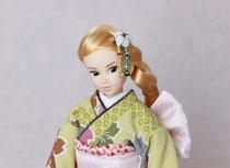 Momoko着物、Momoko kimono、Kimono doll、Wake-Up momokoDOLL