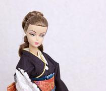 バービー着物、Barbie kimono、Kimono doll