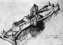 Замок до середини XVII ст.