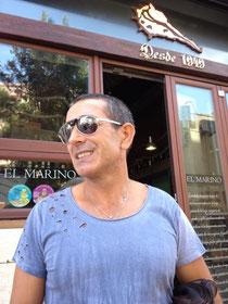 Vicente Miralles, director de Radio Dénia Ser, pasó por El Marino-Port