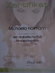 Zertifikat Diabetiker Prävention