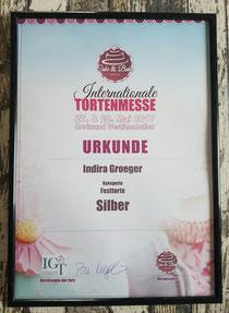 SILBER in der Kategorie Festtorte in Dortmund 2017