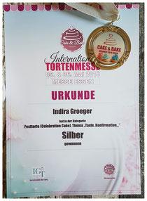 SILBER in der Kategorie Festtorte Essen 2018