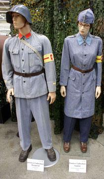Uniform des Luftschutzes