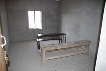 Das ist eines der Gruppenzimmer, geeignet für max 7 Schüler.