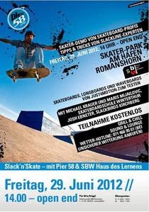 Mach mit und treffe Skate-Profis im Skater-Park in Romanshorn.