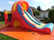 Mega Slide mit Unterlegplane