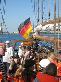 """Piratensegeln mit der """"NORDEN"""""""