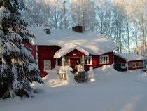 Päätalo talvella