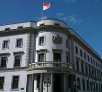 Der Hessische Landtag in Wiesbaden