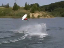 Wakeboarden in Zirkow/ Railey