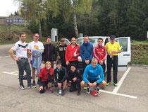 Team Leistungsdiagnostik.de vor dem Start des Schluchseelauf