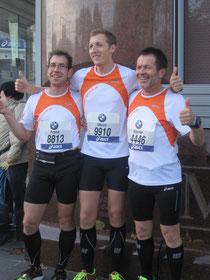 Die Starter beim Frankfurt Marathon