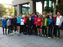 Das Team beim München Marathon (nicht ganz komplett)