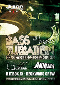 02.10.2012 Bassturbation @ Juice Club