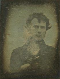 """Robert Cornelius, """"Selbstportrait"""", 1839. Privatsammlung, Philadelphia."""