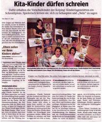 Bericht der WAZ Velbert vom 03.07.2013