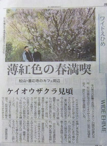 3月28日 愛媛新聞