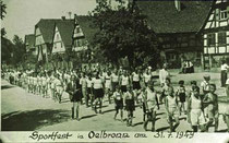 Sportfest in Ölbronn am 31.07.1949