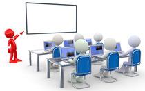 Individuelle Schulungen für interaktive Whiteboards