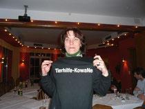 Nicole König mit unseren T-Shirts