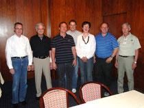 Alter und neuer Vorstand gemeinsam