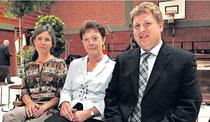 Adelheid Lay (Mitte) mit ihren kommissarischen Nachfolgern Kerstin Gnoth und Thomas Mandel