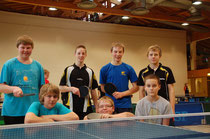 Unser Team der Wettkampfklasse III am Ende des Turniers in Besse