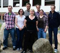 Von links: Jens Wilczek, Annette Tscherniak, Dr. Matthias Gieska, Meike Hellwig, Niklas Renken, Daniela Hinz, Martin Häusler