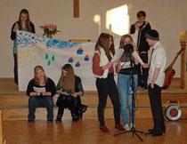 """Die """"Smapies"""" im Gottesdienst - Foto: JPH"""