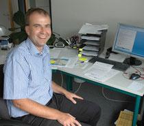 Markus Dippel bereitet die neue Aufgaben intensiv vor - Foto: jph