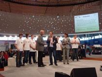 Öffentlicher Abschluss der Kooperationsvereinbarung zwischen der BBS 6 Hannover und der KGS Sehnde