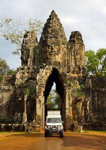 Eingangstor zur Tempelanlage von Angkor