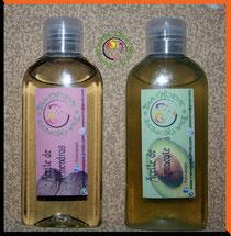 Aceite de Almendra y Aceite de Aguacate