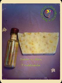 Jabón A. Oliva y Caléndula