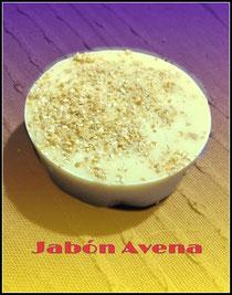 Jabón Avena