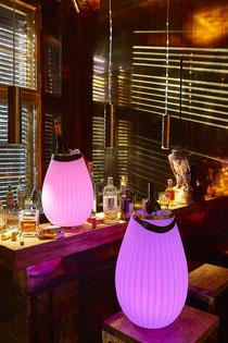 Leuchte, stylish, Vase, zum Tragen