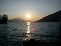Sonnenuntergang Thunersee