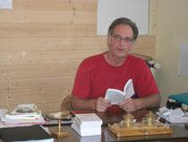 """le dr Hubert Hédoin, auteur du livre """"votre santé par l'alimentation"""""""