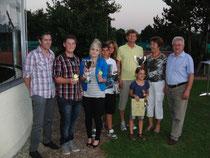 Die Sieger der Clubmeisterschaften 2011