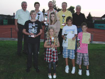 Die Sieger der Clubmeisterschaften 2010