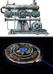 Verzerrungsfilter Polarkoordinaten: Von der Schrottmaschine zum Ufo